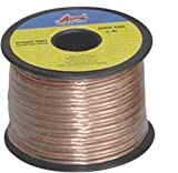Copper Speaker Wire - Oxygen Free, Tough & Flexible, For Home Theater Systems & Professional Use -18 Gauge 50 FT- By Audio Dynamics