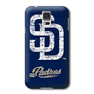 ArtPopTart S5 Case,MLB San Diego Padres Pattern Samsung Galaxy S5 Covers,Durable Hard Case Covers