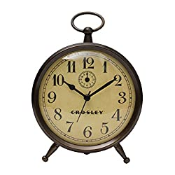 Crosley Vintage Finial Alarm, Bronze