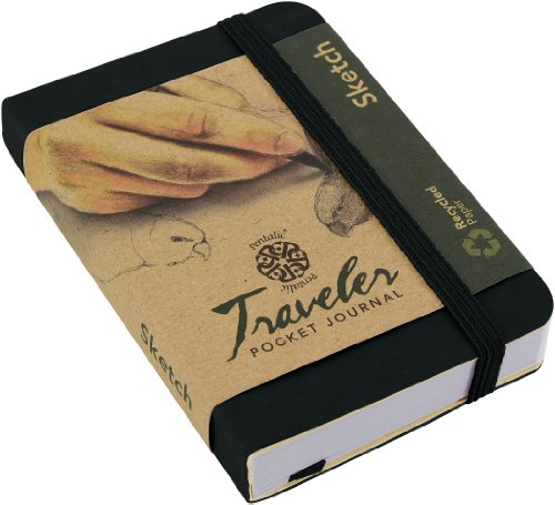 Pentalic Traveler Pocket Journal Sketch product image