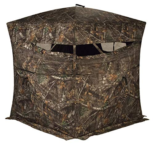 - Rhino Blinds R150-RTE 3 Person Hunting Ground Blind, Realtree Edge