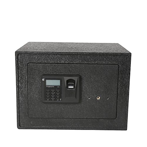 KARMAS PRODUCT Electronic Digital Security Safe Box Home Safe with Fast Access Fingerprint Recognition