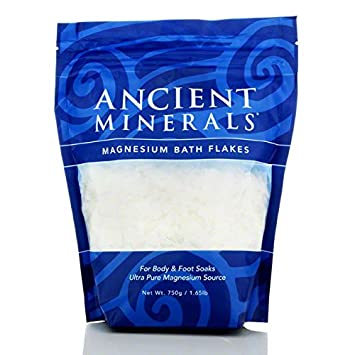 Ancient Minerals Magnesium Bath Flakes, 1.65 Lb