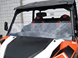 POLARIS General 11 3/4'' Tall Half Windshield (Does not fit Rangers).Tallest on the market (we make shorter upon request let us know at time of order). Made in America