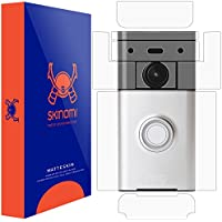 Ring Video Doorbell Screen Protector + Full Body (Wi-Fi Enabled), Skinomi MatteSkin Full Skin Coverage + Screen Protector for Ring Video Doorbell Anti-Glare and Bubble-Free Shield