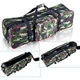 Neewer 35'x10'x10'/90x 25 x 25cm Photo Studio Equipment Large Carrying Bag with Strap for Tripod Light Stand and Photography Lighting Kit (Camouflage)