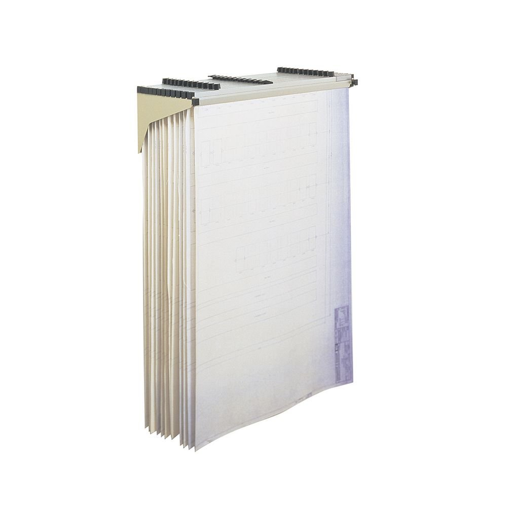 SAF5030 - Safco Sheet File Drop/Lift Wall Rack