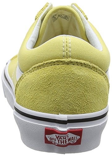 Yellow Vans White Skool Dusky Adults' Old Citron True Suede Unisex Canvas Classic Sneakers qr8q6w