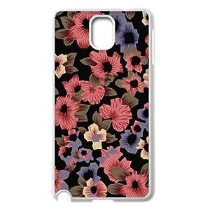 Samsung galaxy note 3 N9000 Beautiful flowers Phone Back Case DIY Art Print Design Hard Shell Protection FG025613