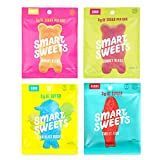Keto-Friendly, Stevia Sweetened Fruity Gummy Bears, Sour Gummy Bears, Sweet Fish, Sour Buddies, Assortment Pack, Low Carb, Low Sugar, 7.2 oz. Total (Original Version)