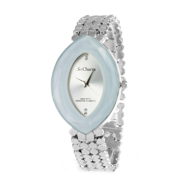 Zeigt Elegante mit 4 Swarovski-Kristalle Pro SO Charm®