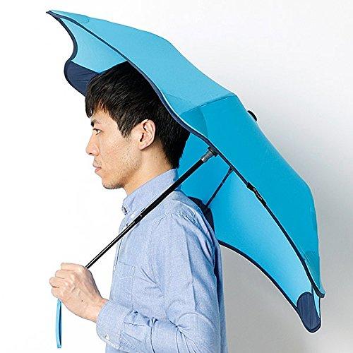 ブラント(BLUNT) 【空気力学による風に強い構造6色展開】ユニセックス折りたたみ傘(メンズ/レディース雨傘) B072K79XPV 51 73スカイブル 73スカイブル 51