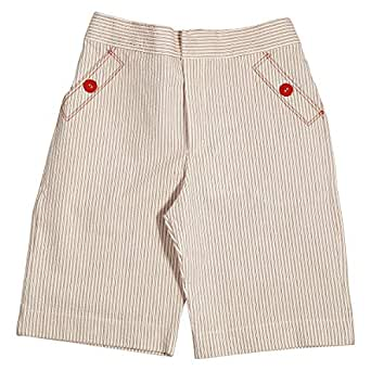 Le Coccole Kids Atelier Red Flat Front For Boys