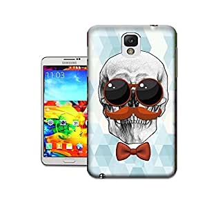 X-Cases Skull With Glasses TPU Hard Phone Shell Cases For Samsung Galaxy Note3