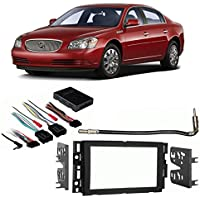 Fits Buick Lucerne 2006-2011 Double DIN Stereo Harness Radio Install Dash Kit