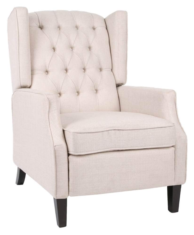 Noble House Keating Traditional Wingback Recliner by Noble House