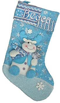 Winter Wonderland Personalized Stocking - Rudolph