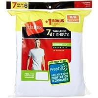 7-Pack Hanes Men's FreshIQ ComfortSoft Crewneck Undershirt