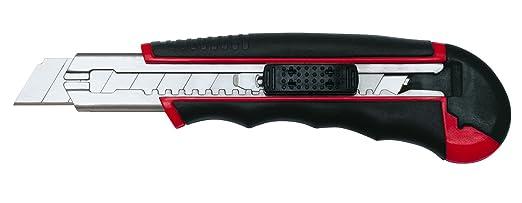29 opinioni per Wedo 078418 Autoload Cutter con 6 Lame nel Vano Scorta, 18 mm, Rosso/Nero