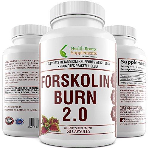 Strength Forskolin Intercept Forskohlii Capsules