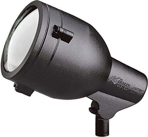 Kichler 15241BKT HID High Intensity Discharge Accent 1-Light 120V, Textured Black ()