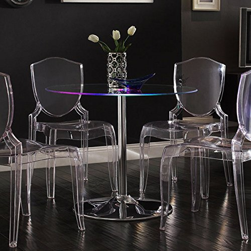 Metro Shop INSPIRE Q Lorin LED Round Dining Table (Metro Dining Table)