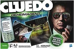 Hasbro 02143100 Parker Cluedo Geheimagent - Juego de mesa ...