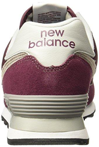 Hombre Rojo Burgundy Zapatillas para Balance New Ml574v2 4qIa0w