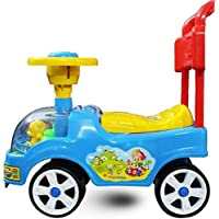 SR Funny Rider for Kids Spin Horn for Babies Easy to Drive (Multi Colours)