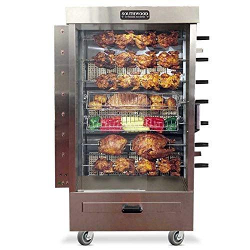 (Southwood RG7 35-Chicken NG (LP Avail) Gas Heavy-Duty Rotisserie Machine)