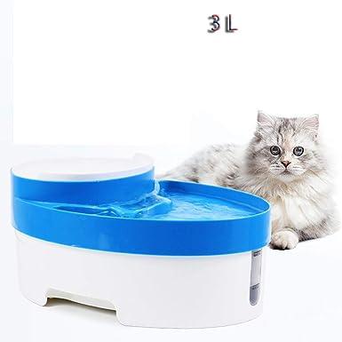 Amazon.es: Fuente de Agua Gatos y Perros, Dispensador de Agua Automático para Mascotas, Bebedero Automático 3 L de Gato, Perro, Sano e Higiénico