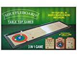 Bulk Buys 3 In 1 Shuffleboard Tabletop Game