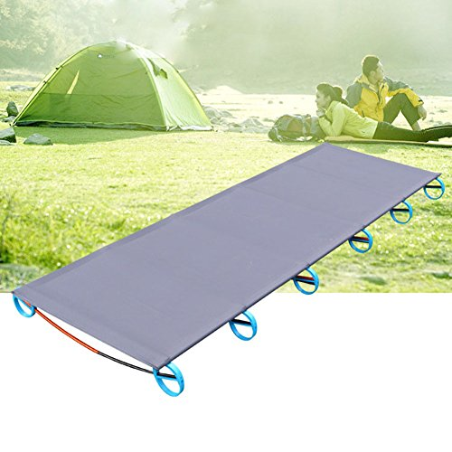 Camping Cots,Portable Outdoor Folding Bed by ONEGOL,Aluminium Alloy Military Folding Cot Withstand 330lb for Travel, Base Camp, Hiking, Mountaineering with Storage Bag,For Adult or Kids (Base Camp Storage)