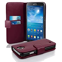 Cadorabo - Book Style Wallet Design for Samsung Galaxy MEGA 6.3 (I9200) with 2 Card Slots and Money Pouch - Etui Case Cover Protection in PASTEL-PURPLE