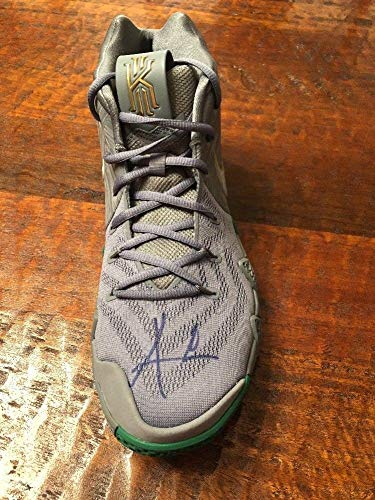Kyrie Irving Autographed Signed Nike Kyrie 4 Shoe PSA/DNA Boston Celtics