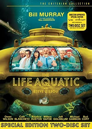3372e02ff9aa3d The Life Aquatic with Steve Zissou The Criterion Collection by Bill Murray   Amazon.ca  Bill Murray