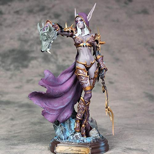 dylad Character Model World of Warcraft Sylvanas Undead Queen Statue Home Office Decoration.700828934197