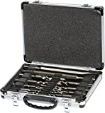 Makita 13 Piece Drill and Chisel Set SDS PLUS Aluminum Carry Case D-20111
