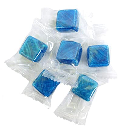Atkinson – Cubos de menta azul para dulces duros – bolsa a ...
