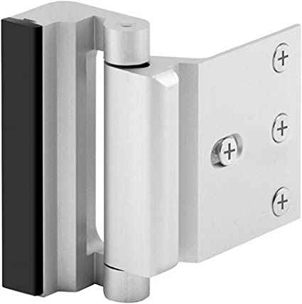 Home Security Door Lock with 8 Screws Childproof Door Reinforcement Lock with 3 Stop Withstand 800 lbs for Inward Swinging DoorUpgrade Night Lock to D at Kapruka Online for specialGifts