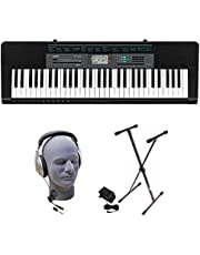 Casio CTK-2550 PPK 61-Key Premium Keyboard Pack with Stand, Headphones & Power Supply