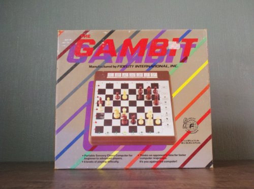 Portable Chess Computer (The Gambit - Portable Electronic Sensory Chess Computer for Beginner to Advanced Players {Chess Champions})