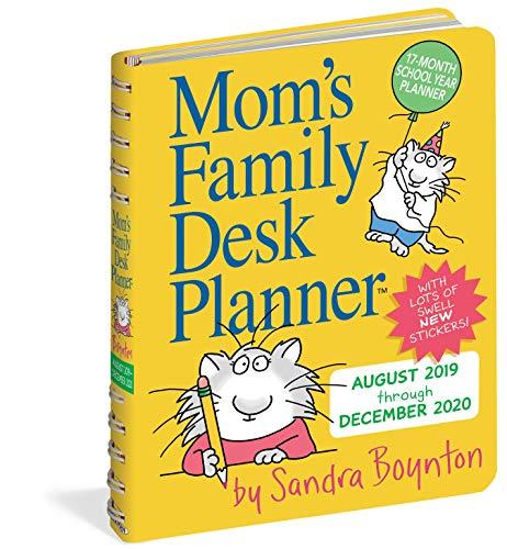 Mom's Family Desk Planner Calend...