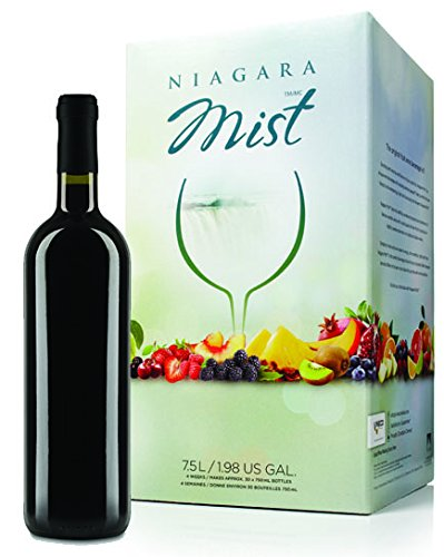 NIAGARA MIST Wine Kit - Raspberry- Makes wine in 4 weeks