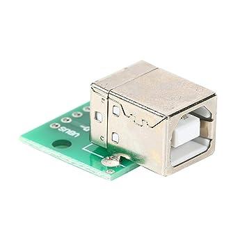 Asiproperuk - Adaptador USB 2.0 Hembra para Impresora (USB 2.0 ...