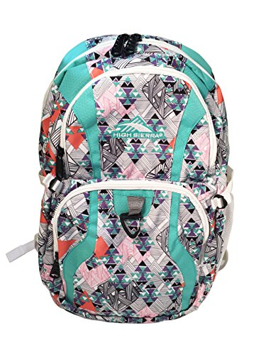 High Sierra Wilder Backpack (Geometric/Pastel)