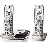 Panasonic KXTGD212N Dect 6.0 2 Digital Cordless Handset