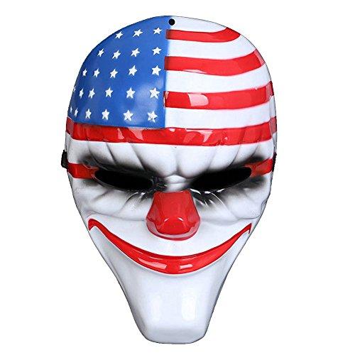 Really Cool Masks (Chenkaiyang Novelty Masquerade Mask Scary Costume Ghost Cosplay Party Fright Mask)