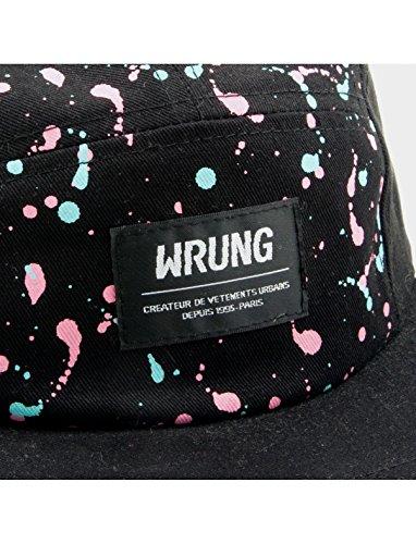 – sexos para Gorra Freestyle todos Panel multi Talla negro Wrung 5 OSFA única talla 6O4OUw5x