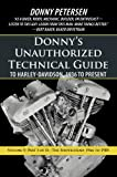 Donny'S Unauthorized Technical Guide to Harley-Davidson, 1936 to Present: Volume V: Part I of Ii—The Shovelhead: 1966 to 1985: Volume 5